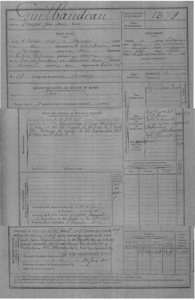 francois-guilbaudeau-registre-matricule-2